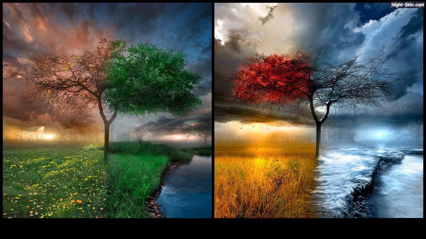 عکس فصل ها,فصل بهار,فصل تابستان,فصل پاییز,فصل زمستان,تصاویر فصل ها